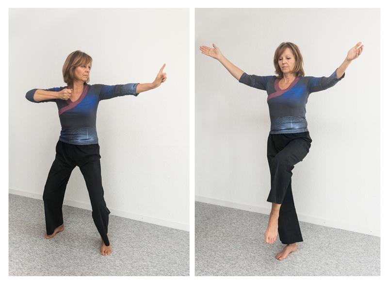 Bewegungen Körperübungen