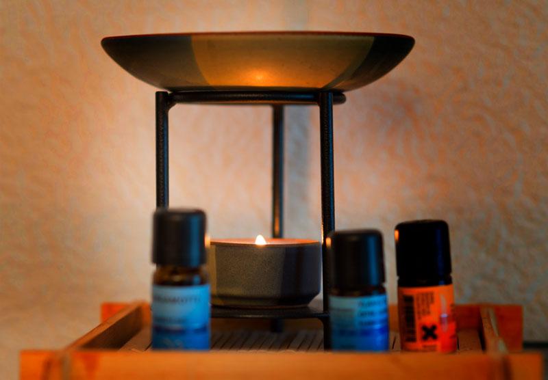 Bewegungen Kerzenlicht
